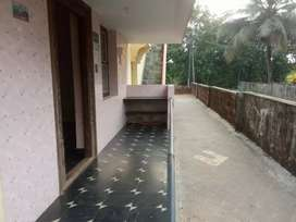 Rent for house it is placed roadside with regular transport