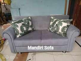 Sofa single lengkung kekinian