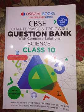 CBSE-Chapterwise & Topicwise QUESTION BANK- solution- Science -Class10