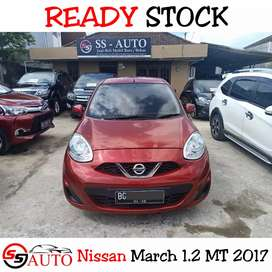 (Dp 12Jt) Nissan March MT 2017 bukan Agya/Ayla 2016/2015/2014