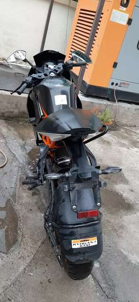 Ktm rc bike in mint new condition for sale..