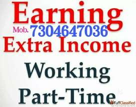Part Time job  Home Based weekly 13,000/