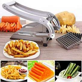 Latest potato cutter 2 Blades Stainles
