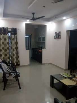 Semi Furnished flat for a small family