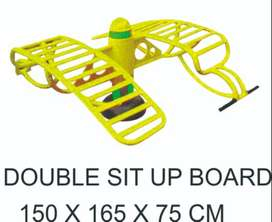 Double Sit Up Board Outdoor Fitness Termurah Garansi 1 Tahun