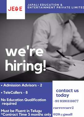 We are hiring - TeleCallers
