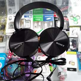 Headphone Headset Sony Extra Bass Mic