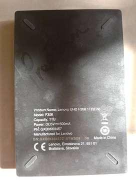 Lenovo f308 1TB external hard disk