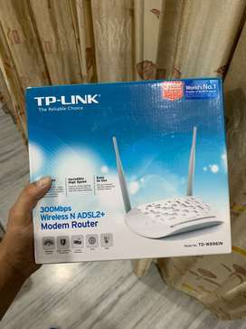Tp Link modem seal pack box only in 999/-