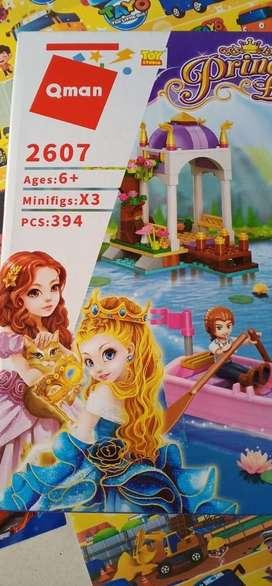 Lego qman princess2607 new box