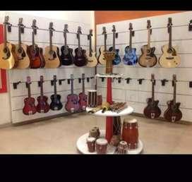 Guitar,Tabla, Harmonium, Keyboard, Congo,Drums, Violin, ukele, Sitar