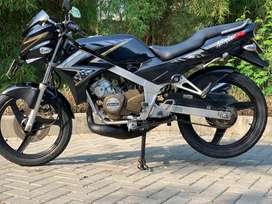 CASH CREDIT jual motor sport 2 tak ninja 150 r ss rr hitam 2014