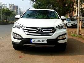 Hyundai Santa Fe 2WD AT, 2017, Diesel
