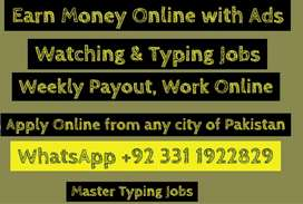 Earn money on laptop or PC with Typing Jobs√ Join us today for smart