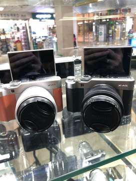 Fujifilm X-A5 Kit 15-45MM 2nd Display mulus lengkap ori xa3 m100 A6000