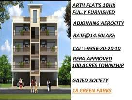 1BHK Ready to Move Flats Available. GST Free & 90% Bank Loan Approved.