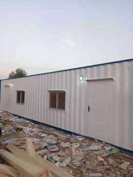 porta cabin office container marketing office with washroom kitchen