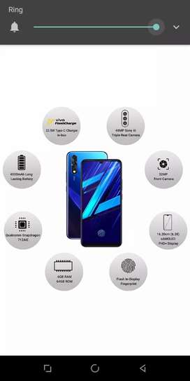Vivo z1x . without opening .urgent sail .with magnetic back cover