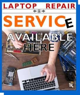 Laptop Repairing Only 300/-