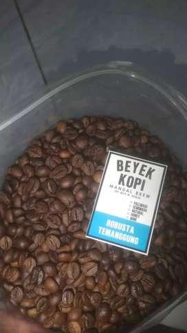 Biji kopi Robusta temanggung (roast bean)