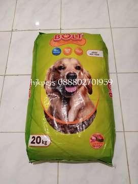 Dog food dogfood makananan anjing bolt lamb bkn proplan royal canin