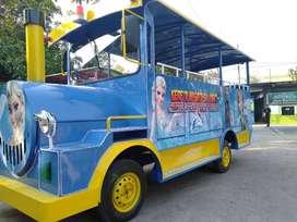 odong odong fiber plat kereta panggung wisata DA