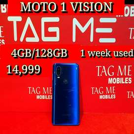 TAG ME MOTO 1 VISION 1 WEEK USED