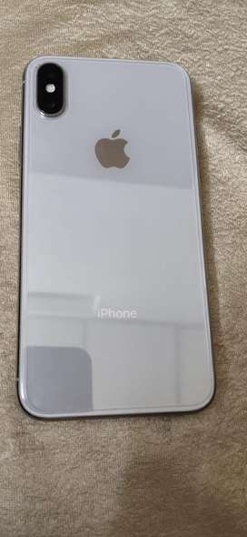 Iphone x 256gb with neat condition not a single scratch