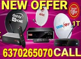 DISH TV SET TOP BOX !AIRTEL SETUP BOX ! DTH!LED TV! TATA SKY 1499 !D2H