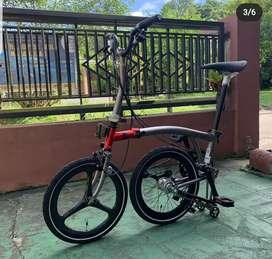 Sepeda Lipat Element Pikes Chicko Jeriko bonus Helm, Toolkit, dan Tas