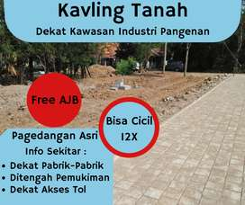 Tanah Kavling Murah Cirebon Pangenan Dekat Akses Tol Kanci