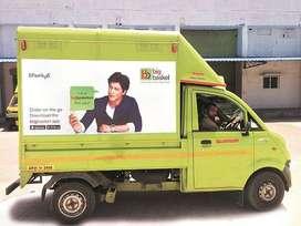 Hiring Van Delivery Boy For New Alipore,Taratala,New Alipore
