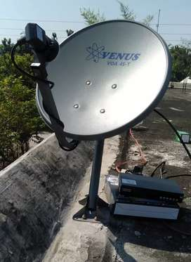 Antena Parabola Batealit Tanpa Berlangganan