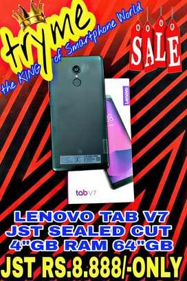 TRYME Jst SEALED  Cut 4Gb/64Gb LENOVO TAB V7