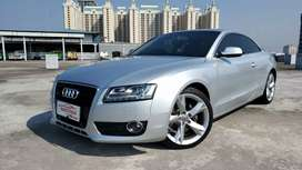 Audi A5 Coupe 3.2 Quattro 2012 NIK 2011 km 20rb Record  Silver on Grey