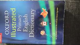OXFORD Illustrated English Dictionary for sale.