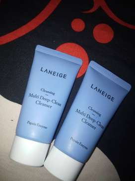 Laneige cleansing multi deep clanser travel size isi 2