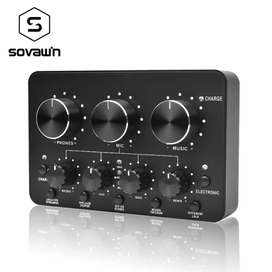 Audio USB External Soundcard Live Broadcast Microphone Headset -SH-1A8