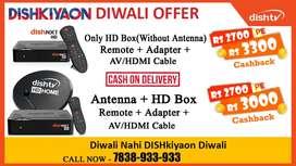 NEW DISHTV NXT HD  DIWALI Offer DISH TV TATASKY Airtel digital tv D2H