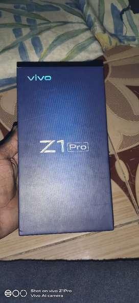 Vivo z1 pro 4gb&64gb full kit 3 month old