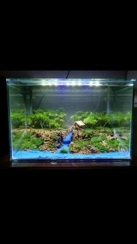 Aquascape  Full Set Aquarium