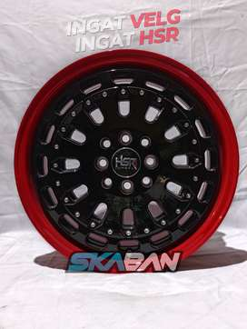 jual hsr wheel myth07 ring 16x7 utk mobil livina,swift,splash,mazda 2
