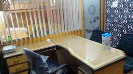 350 sq.ft Fully Furnished AC Office call 99x35x40x88x88
