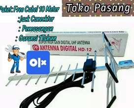 Toko Agen Pasang Baru Antena Tv Uhf Outdoor