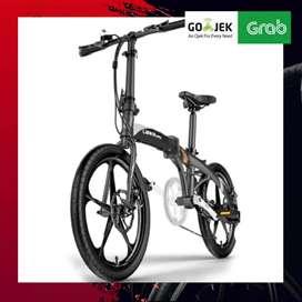 ORIGINAL SEPEDA LIPAT LISTRIK - LANKELEISI Elektric Bike Smart Moped 3