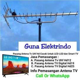 Ahli terdekat pasang servis antena tv analog dan digital sukadiri