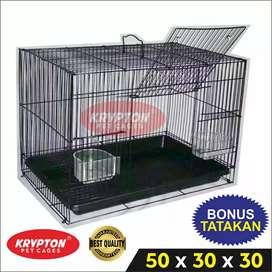 Kandang Umbaran Size M (50x30x30) Burung, Sugar Glider, Kelinci, dll