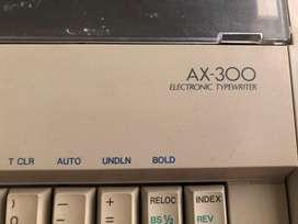 Mesin tik elektrik Brother ax-300