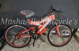 Double jumps mountain bike imported brand new