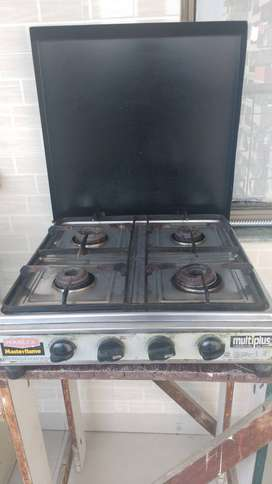 Four Burner Cook Top brand Marlex Masterflame.